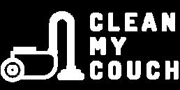 Clean My Couch Logo White - Zetel reinigen